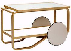 Carrello portavivande di Alvar Aalto