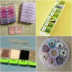 I have compiled 100 ways you can organize your whole house using items from the dollar store.