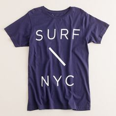 e9f0b286ae2 New York City T-Shirt featuring Surf NYC Top Shoes For Men