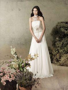 Andromeda (Vestido de Novia). Diseñador: Inmaculada García. ...