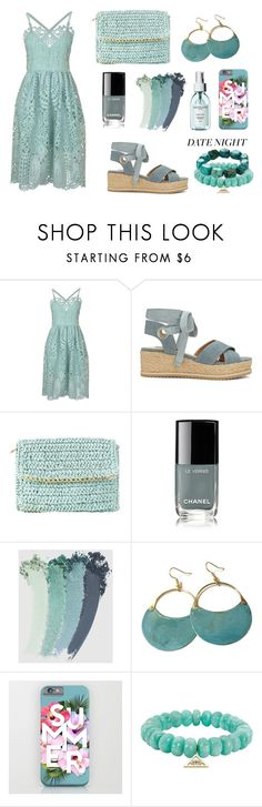 """Summer lovin"" by fabulouslymarvellous ❤ liked on Polyvore featuring Perseverance London, Miss Selfridge, Chanel, Gucci, Sydney Evan and Nest"