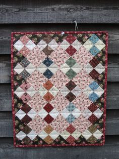 Sweet doll quilt