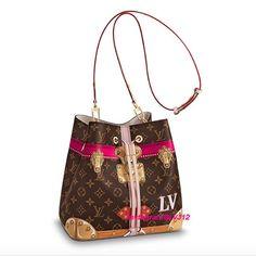 Louis Vuitton Summer Trunks Monogram Canvas Neonoe Bag 2