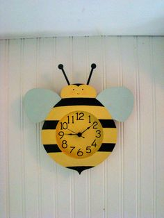 Items Similar To Jolly Bee Wall Clock