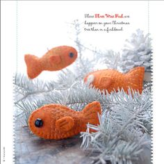 Wonderful craft Blog with fibers - Fish project in her book