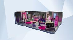 Découvrez cette pièce dans la Galerie LesSims4! - Teen studio for girls who want some freedom