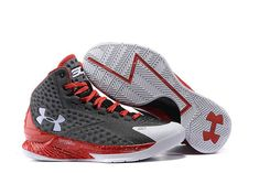 new arrival a2ce8 7584c Discover the Under Armour Curry One Custom Gray White Red Sneaker Top Deals  collection at Yeezyboost. Shop Under Armour Curry One Custom Gray White Red  ...