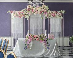 """Нежный, яркий, стильный, именно такой декор получился у нас в банкетном зале """"Семь Королей"""""""