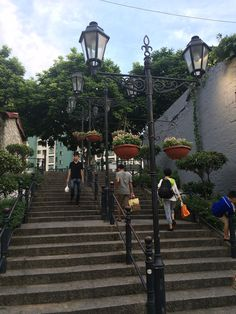 Taipa Macau © Viaje Comigo Macau China, Places To Go, Sidewalk, Rammed Earth, Temples, Traveling, Side Walkway, Walkway, Walkways