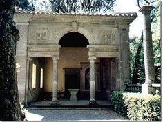 Villa Lante casino - Bagnaia, Italy - late 16th century