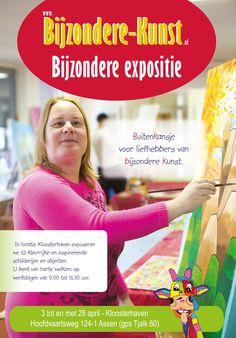 Expositie Bijzonder Kunst – Wijk Kloosterveen