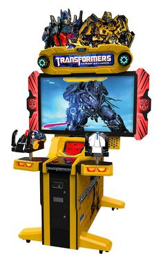 Arcade Heroes Sega Shows Off First Footage of Transformers: Human ...