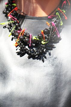 huge selection of e39d7 31a8f Showgoer, 2012, Streetwise baubles add an extra punch to metallic  separates. Modeaccessoarer,