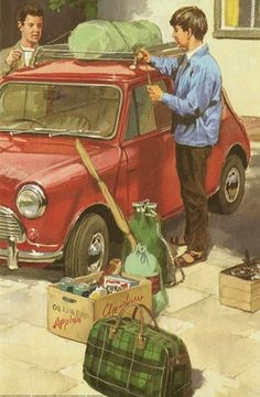 Loading car - Peter & Jane, Adventure at The Castle