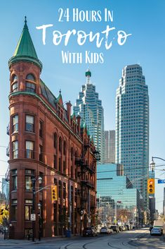 Toronto deserves more than a weekend but if that's all you've got- we've got you covered! From where to stay and where to eat to the best things to see and do check out how to spend 24 awesome hours in Toronto with kids! Canada Destinations, Amazing Destinations, Travel With Kids, Family Travel, Group Travel, Family Trips, Quebec, Travel Guides, Travel Tips