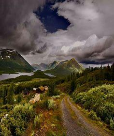 """Hedda Gabler"" Norway countryside - Elvsted's"