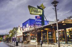 Main Street in Whitehorse, Yukon Northern Canada, Banff, Main Street, Maine, Broadway Shows, Multi Story Building