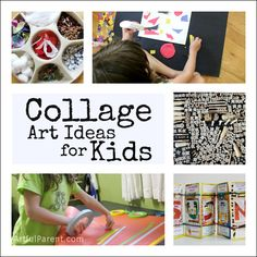 45+ Collage Art Ideas for Kids