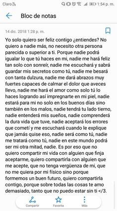 Cute Boyfriend Gifts, Love Boyfriend, Love Phrases, Love Words, Love Text, Frases Tumblr, Love Quotes For Him, Spanish Quotes, Love Messages