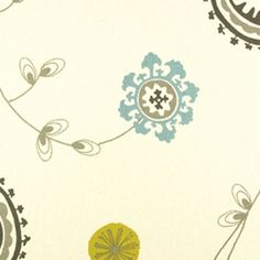Emma Summerland/Natural by Premier Prints - Drapery Fabric - Fabric By The Yard