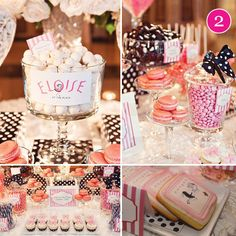 {Party of 5} St. Patrick's Day, Eloise Dessert Table, Lego Party, Superhero & Vintage Bridal Shower