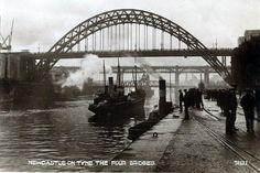 Vintage Postcard, Newcastle-on-Tyne