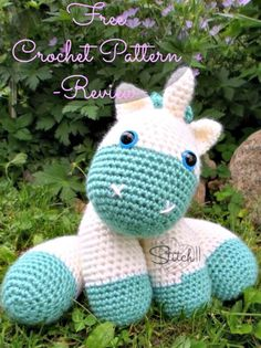 Free Crochet Baby Unicorn Pattern -  Crochet Unicorn Pattern- 32 Free Crochet Patterns - DIY & Crafts