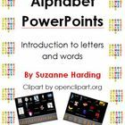 This series of PowerPoints is designed to be used as an introduction to letters.