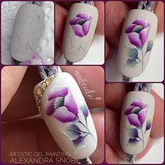 Image may contain: 1 person Nail Art Orange, Swirl Nail Art, Rose Nails, Flower Nails, Heart Nails, Acrylic Nail Designs, Nail Art Designs, Nail Art Fleur, Silk Nails