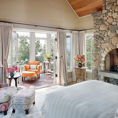 Farmhouse Master Bedroom Design Ideas, Pictures, Remodel and Decor