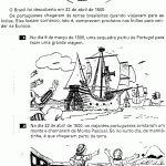 historia do descobrimento do brasil em quadrinhos para imprimir