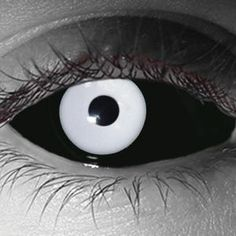 White Out Sclera Custom Contact Lens