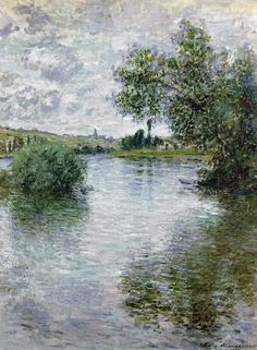 La Seine à Vétheuil - 1879 ✏✏✏✏✏✏✏✏✏✏✏✏✏✏✏✏  ARTS ET PEINTURES - ARTS AND PAINTINGS  ☞ https://fr.pinterest.com/JeanfbJf/pin-peintres-painters-index/ ══════════════════════  Gᴀʙʏ﹣Fᴇ́ᴇʀɪᴇ BIJOUX  ☞ https://fr.pinterest.com/JeanfbJf/pin-index-bijoux-de-gaby-f%C3%A9erie-par-barbier-j-f/ ✏✏✏✏✏✏✏✏✏✏✏✏✏✏✏✏