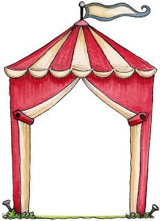 Varieté de Láminas para Decoupage: Entre payasos y circos...