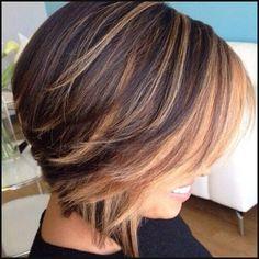50 Stilvolle Vorschläge für Braune Haare mit Blonden Strähnen | Einfache Frisuren