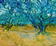 Van Gogh. Olive Orchard, Saint-Rémy.1889.