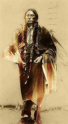 According to my father and his uncle, Quanah Parker, the last recognized Chief of the Comanche Nation, was a distant relative... something like my great, great, great uncle.