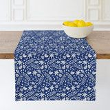 """""""Under the Sea"""" - Table Runners in Cobalt by Griffinbell Paper Co.."""
