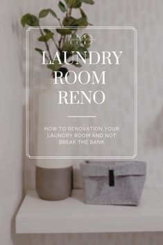 How to Reno your Laundry Room and not Break the Bank -Leah Maria Designs Home Crafts, Diy Home Decor, Room Decor, Laundry Room Inspiration, Farmhouse Laundry Room, Laundry Rooms, Laundry Room Design, Interior Design Tips, Home Renovation