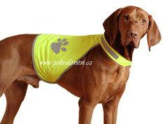 Reflexní vesta pro psa bezpečnostní RŮZNÉ VELIKOSTI