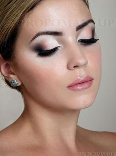 Wedding make up, bridal beauty for fair to medium skin tones.