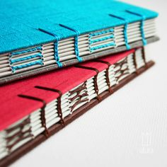 Some beautifully bound book samples