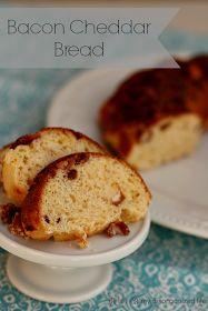 Bacon Cheddar Bread from {i love} my disorganized life