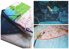 amazing blankets and napkins by my friend Nikki!  Soft Cities - custom designed blankets featuring your favourite location!