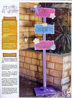 Revistas de manualidades gratis: Manualidades country para jardines y entradas