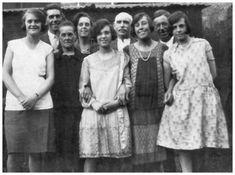 Dress styles, circa 1923.
