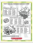 Captain Underpants activities - free downloads from the Dav Pilkey website