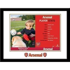 Personalised Arsenal Stats Card   The Personalised Gift Shop