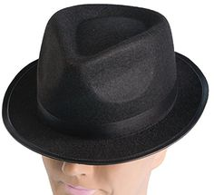 28d3e1297ad9a Bonnie was a true lady gangster‰Û wear this hat to complete your Bonnie  look. This all black hat is in the style of gangsters. Available in One  Size F