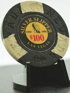 CAPONE/'S CASINO LAS VEGAS NEVADA VINTAGE VAULT LOGO $100.00 FANTASY CHIP!
